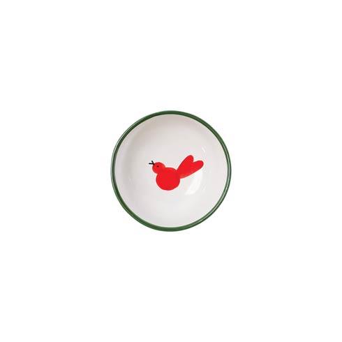 VIETRI  Uccello Rosso Olive Oil Bowl $31.00