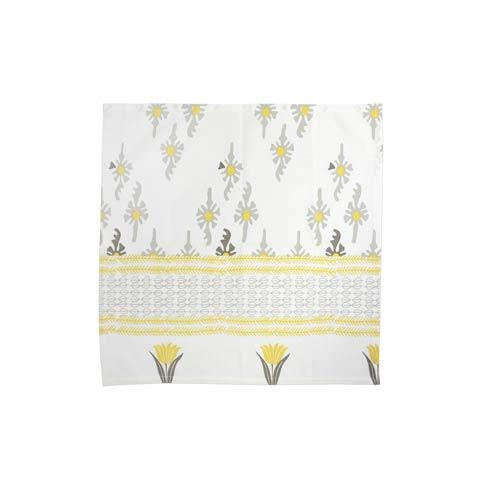 Viva by Vietri  Bohemian Linens Gray/Yellow Napkins - Set of 4 $34.00