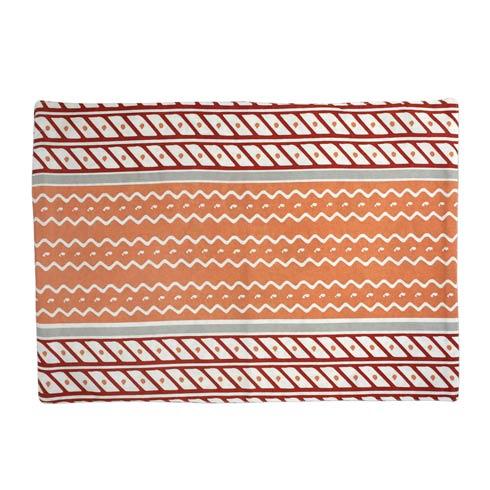 Viva by Vietri  Bohemian Linens Gray/Orange Reversible Placemats - Set of 4 $34.00