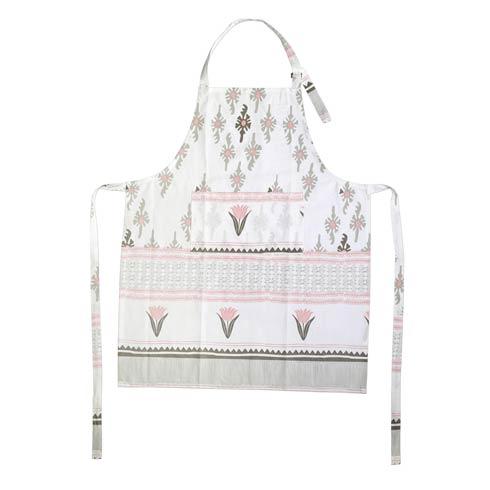 Viva by Vietri  Bohemian Linens Gray/Pink Apron $24.00