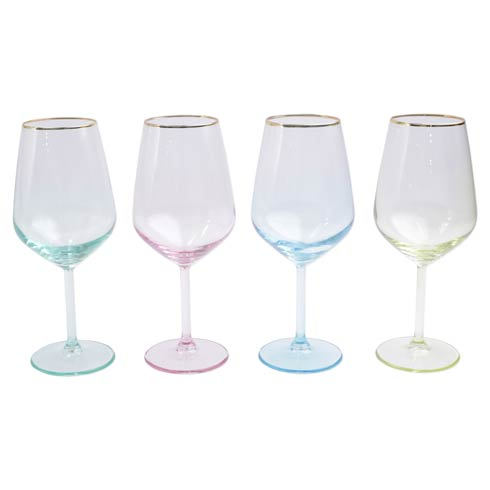 $60.00 Assorted Wine Glasses - Set of 4
