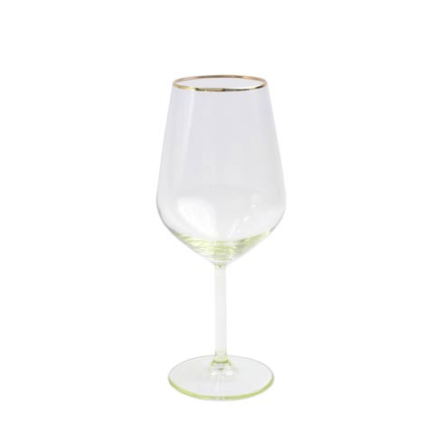 $15.00 Yellow Wine Glass