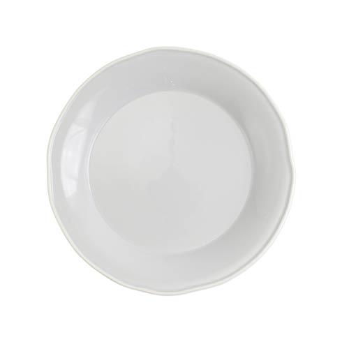 Viva by Vietri Viva Chroma Light Gray Round Platter $59.00