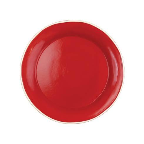 Viva by Vietri Chroma Red Dinner Plate $20.00