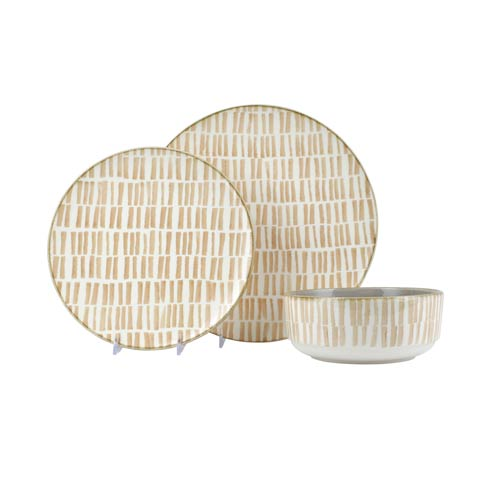 Bamboo 3-Piece Place Setting