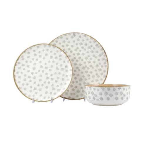 $56.00 Flower 3-Piece Place Setting