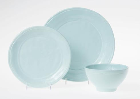 Viva by Vietri Viva Fresh Aqua Three-Piece Place Setting $71.00