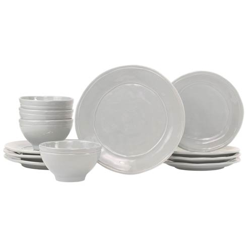 $284.00 Gray 12-Piece Place Setting