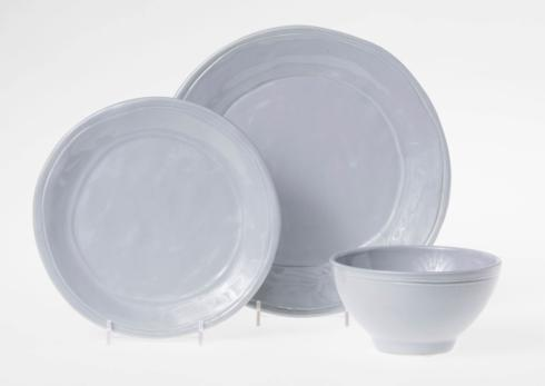 $71.00 Gray 3-Piece Place Setting