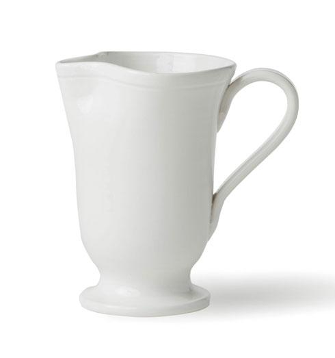 Viva by Vietri Viva Fresh White Large Footed Pitcher $60.00