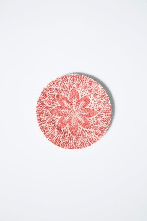 Viva by Vietri Viva Lace Red Dinner Plate $25.00