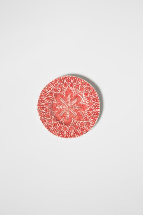 Viva by Vietri Viva Lace Red Salad Plate $23.00