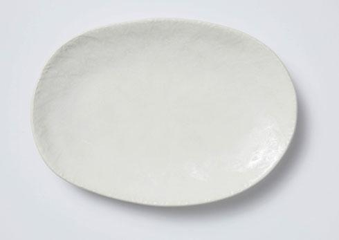 Vietri Viva Lace White Small Oval Platter $60.00