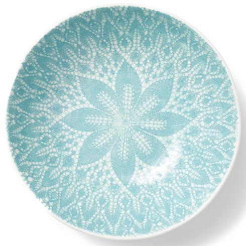 Viva by Vietri Viva Lace Aqua Medium Serving Bowl $60.00