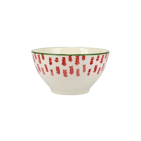 Viva by Vietri   Mistletoe Arrow Cereal Bowl $18.00