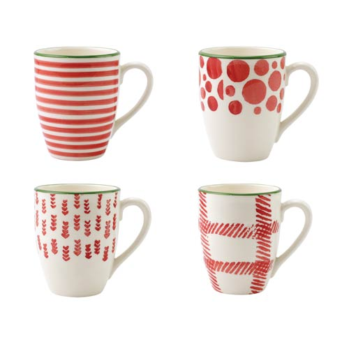 $72.00 Assorted Mugs - Set of 4