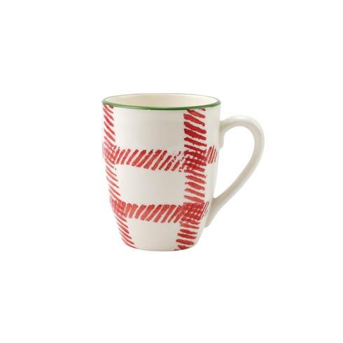 $18.00 Plaid Mug