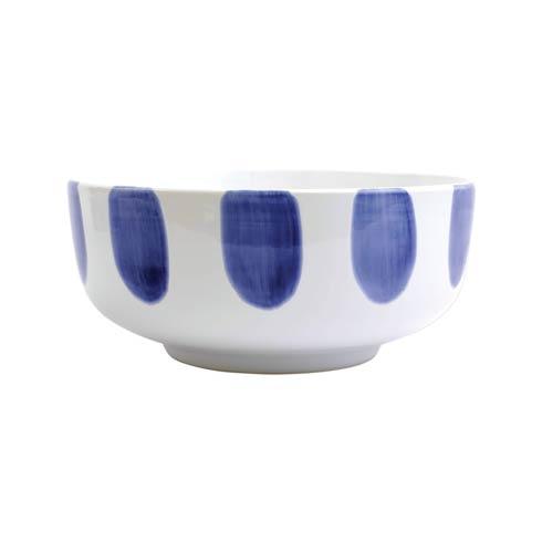 Viva by Vietri  Viva Santorini Dot Large Footed Serving Bowl $57.00