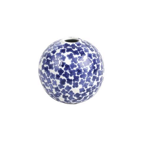 $49.00 Flower Round Vase