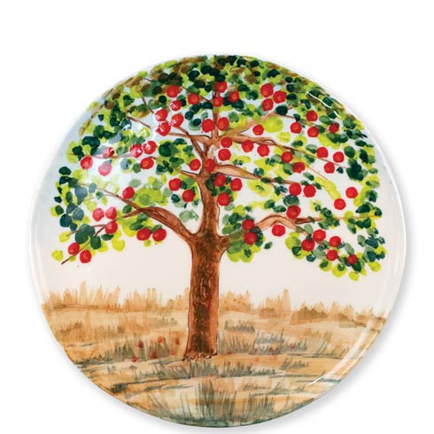 $156.00 Apple Tree Round Wall Plate