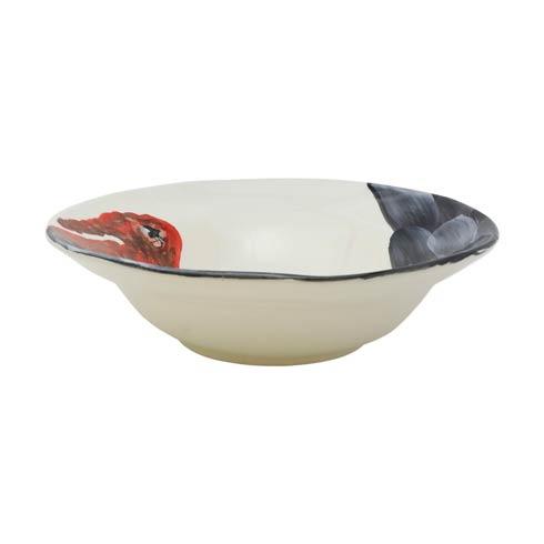 $129.00 Wildlife Turkey Medium Serving Bowl