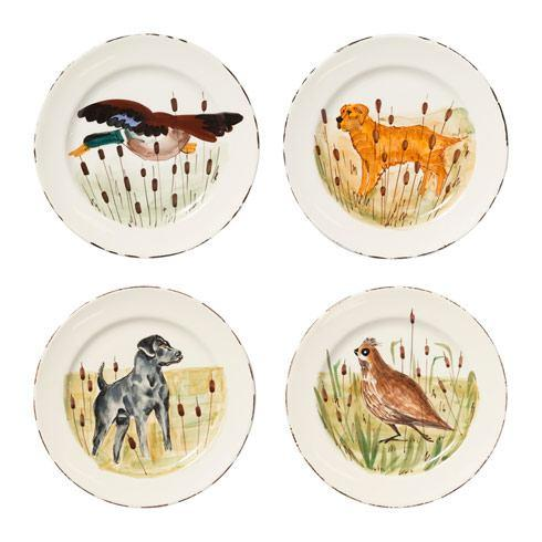 $220.00 Wildlife Assorted Dinner Plates - Set of 4