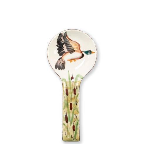 Vietri  Wildlife Mallard Spoon Rest $48.00