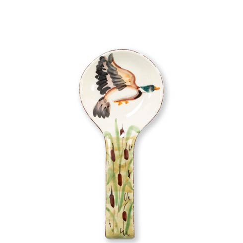 VIETRI  Wildlife Mallard Spoon Rest $49.00