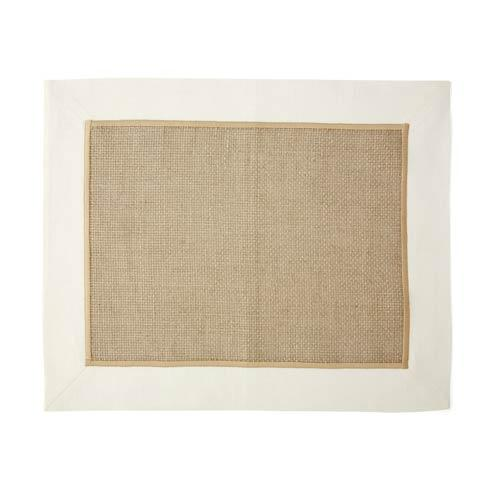 $34.00 Ivory Woven Placemat