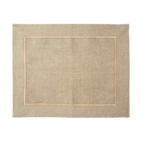 Vietri  Whipstitch Natural Woven Placemat $34.00