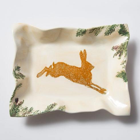 Hare Small Rectangular Tray