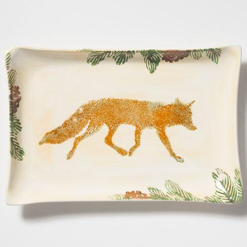 Vietri  Foresta Fox Rectangular Platter $125.00