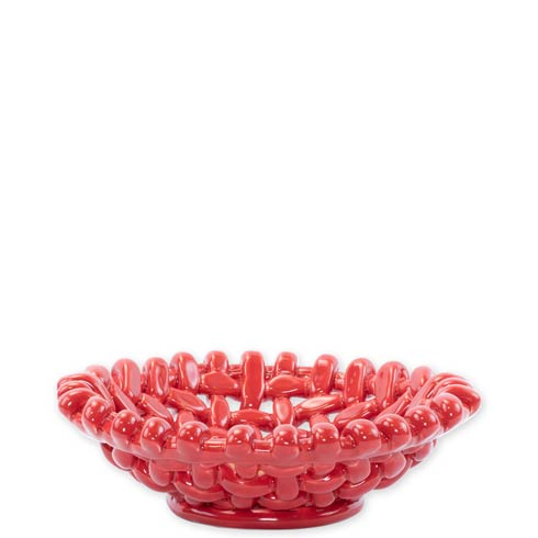 $80.00 Woven Baskets Red Small Basket