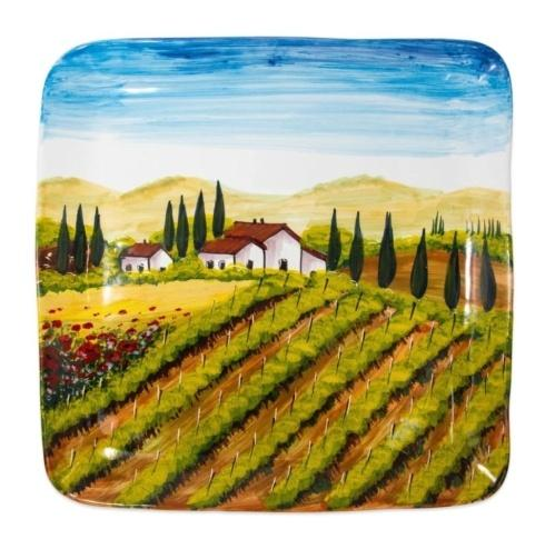 $210.00 Tuscany Large Square Wall Plate
