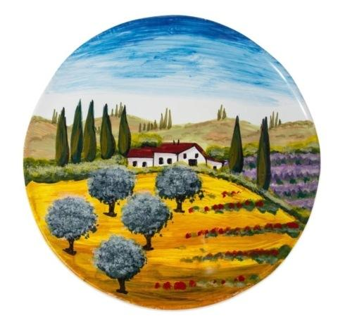 $148.00 Tuscany Round Wall Plate