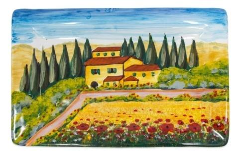 $210.00 Tuscany Rectangular Wall Plate