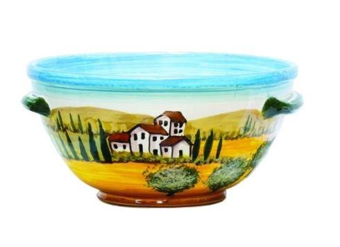$215.00 Tuscany Medium Handled Bowl