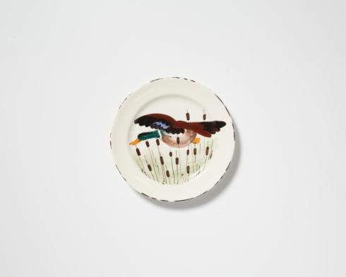 Vietri  Wildlife Mallard Dinner Plate $55.00