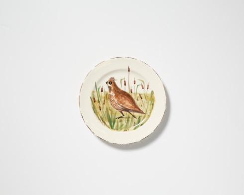 VIETRI  Wildlife Quail Dinner Plate $55.00
