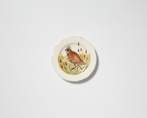 VIETRI  Wildlife Quail Salad Plate $52.00