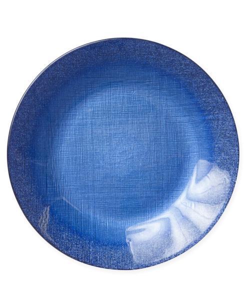 $25.00 Glitter Glass Cobalt Service Plate/Charger