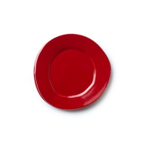VIETRI Lastra Red Salad Plate $36.00