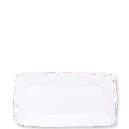 VIETRI Lastra White Rectangular Platter $131.00