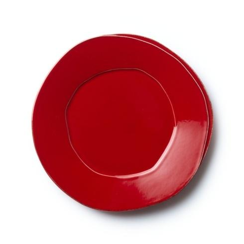 VIETRI Lastra Red European Dinner Plate $38.00