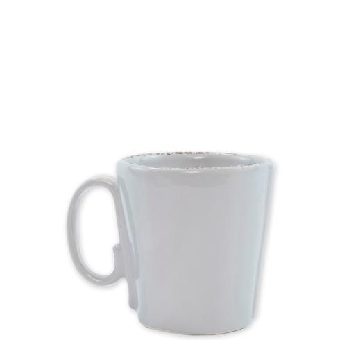 VIETRI Lastra Light Gray Mug $39.00