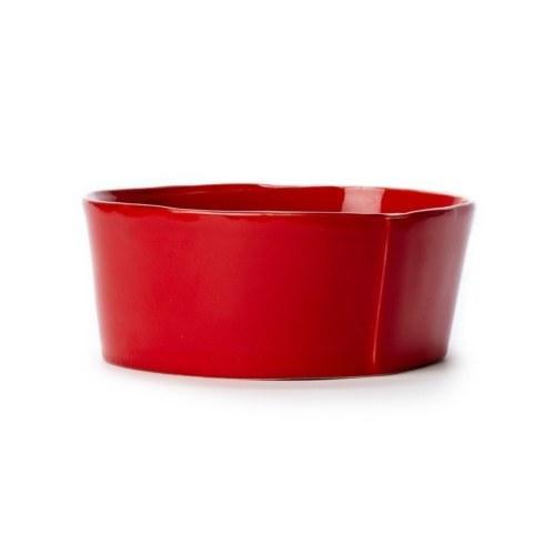 Vietri Lastra Red Lastra Red Medium Serving Bowl $68.00