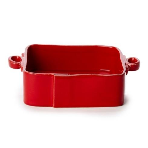 Vietri Lastra Red Square Baker $132.00