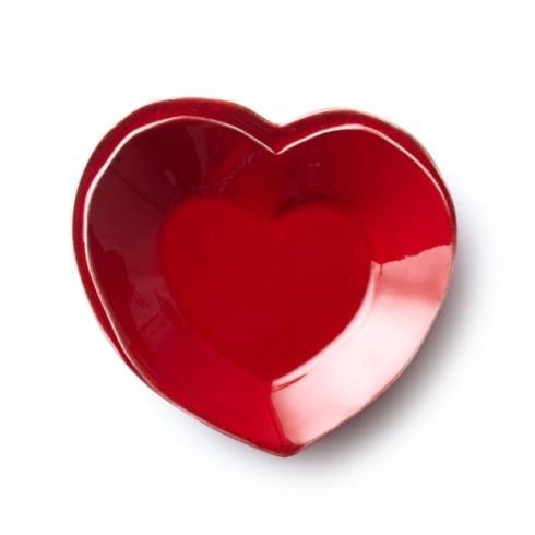 Vietri Lastra Red Heart Dish $30.00