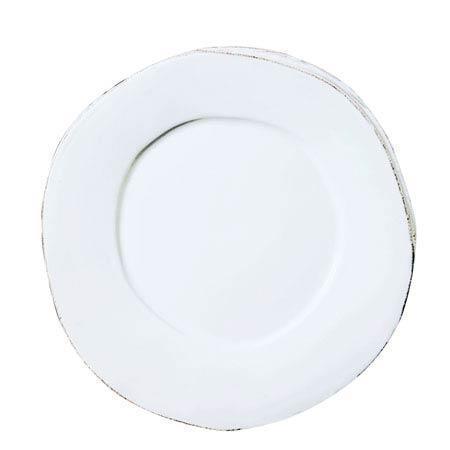 VIETRI Lastra White Dinner Plate $40.00