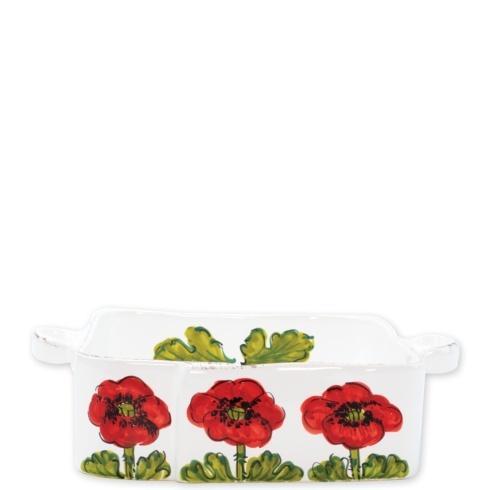 $135.00 Lastra Poppy Square Baker